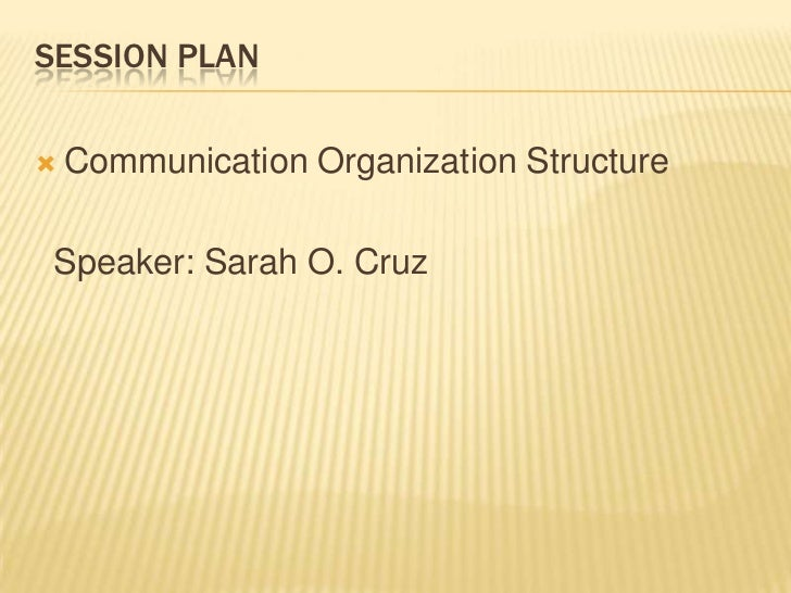 Organizational Structure(Sarah Olivarez-Cruz)