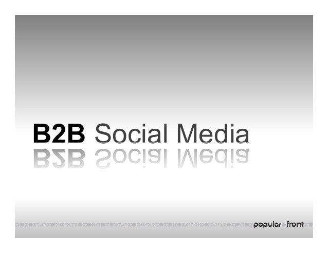 B2B Social MediaB2B Social Media