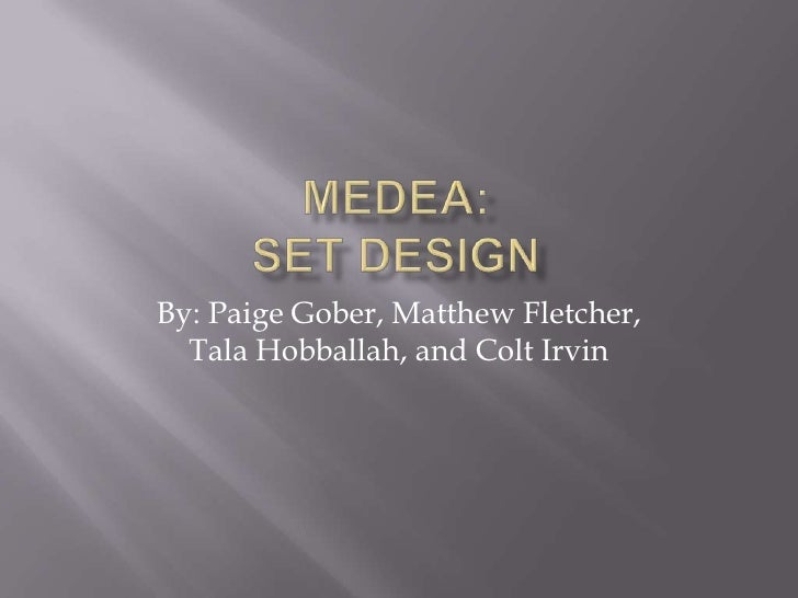 Final Medea Set Design