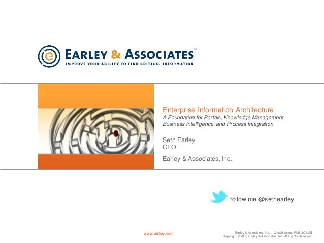 Earley & Associates, Inc. | Classification: PUBLIC USE Copyright © 2013 Earley & Associates, Inc. All Rights Reserved. www...