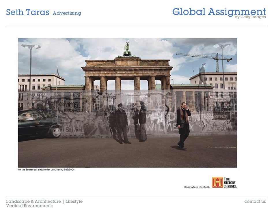 Global Assignment Seth Taras           Advertising                                                   by Getty Images     L...