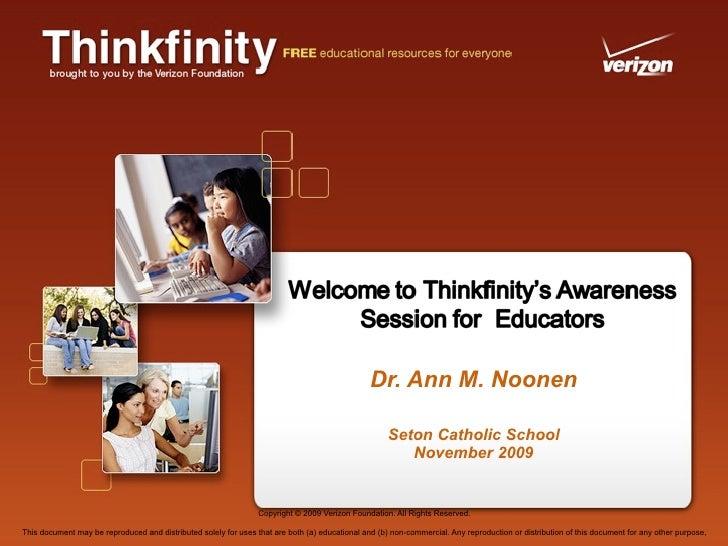 Seton Thinkfinity