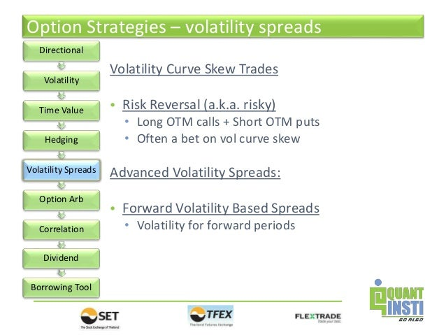What is a risk reversal option trade