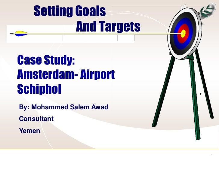 Setting targets