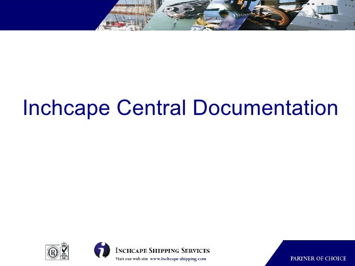 Inchcape Central Documentation
