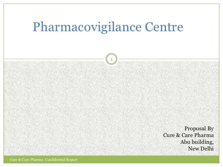 Setting up of new pharmacovigilance centres