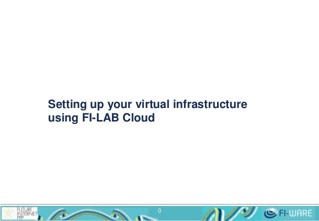 Setting up your virtual infrastructure using FI-LAB Cloud  0