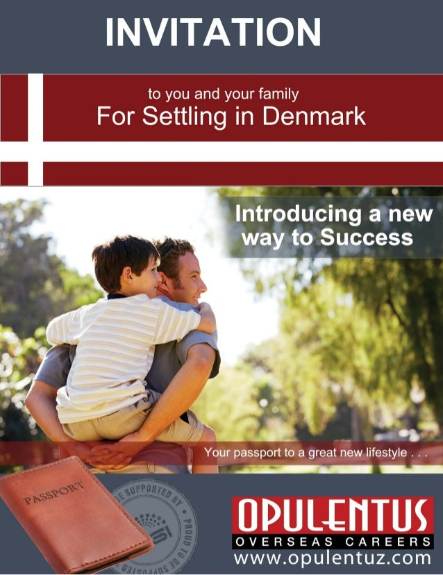 The Green Card Scheme  Why should you migrate to Denmark?  Now it is possible to be granted a one year work cum residence ...