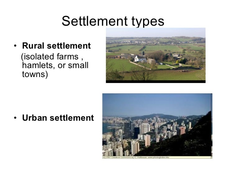 Settlement types di