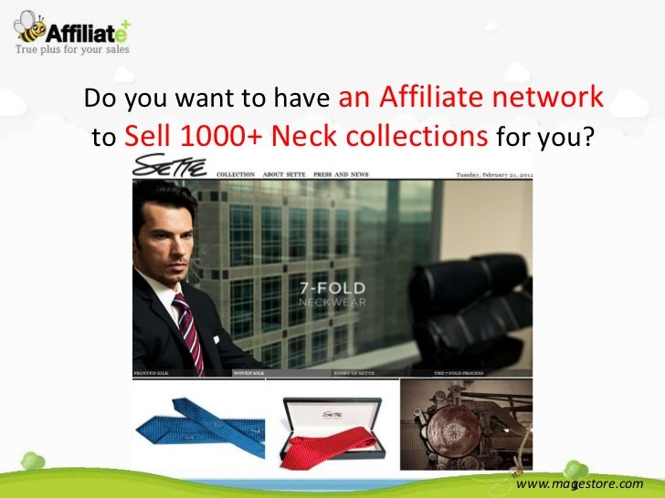 Do you want to have an Affiliate networkto Sell 1000+ Neck collections for you?                                 www.magest...