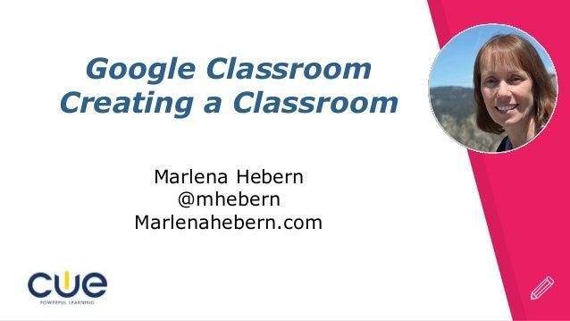 Create an Google Classroom
