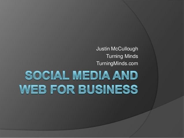 Social Media & Web for Business