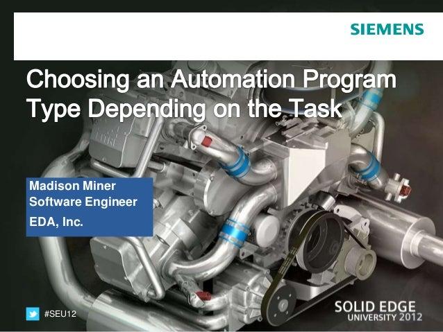 Madison MinerSoftware EngineerEDA, Inc.  #SEU12