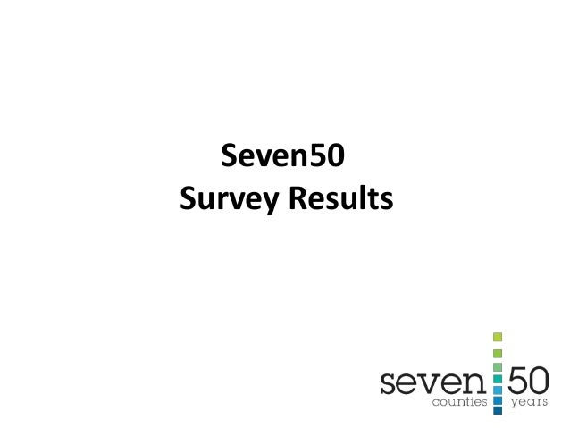 Seven50 Survey Results