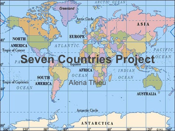 Seven countries project Alena