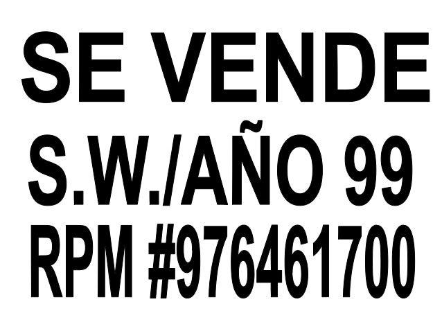 RPM SOS PNP: 0295015 RPM SO3 PNP: 976779055