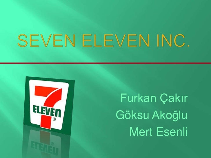 7 eleven case study A joint investigation into 7-eleven stores by four how 7 eleven is ripping off its workers has a strong case against the australian head office of 7-eleven.
