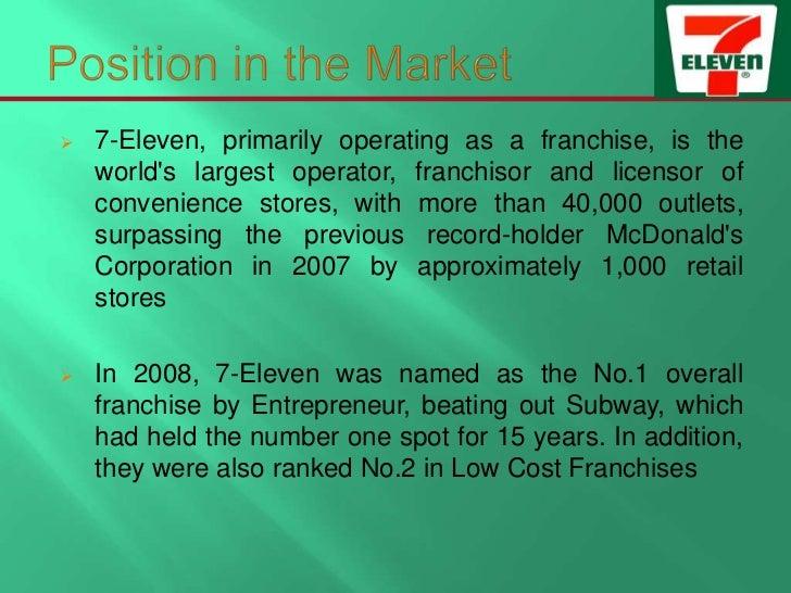 7 eleven business plan
