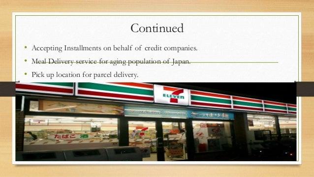 seven eleven japan co Seven-eleven está tratando de duplicar en estados unidos la estructura de la cadena de suministro que ha tenido éxito en japón con la introducción de los cdc ¿cuáles son las ventajas y desventajas de este método.