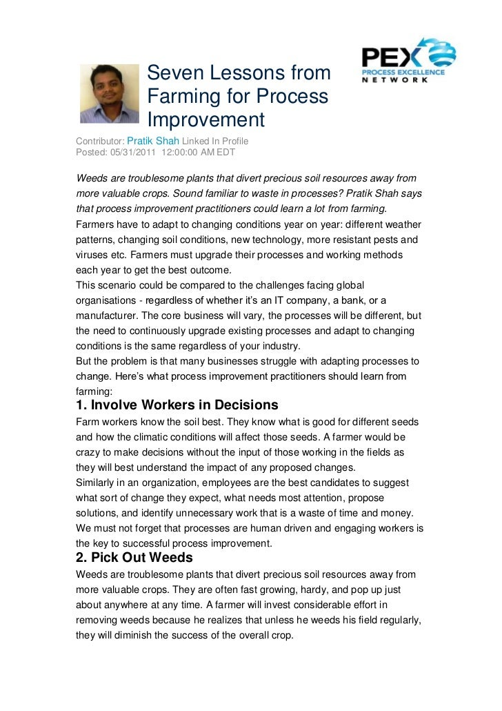 Seven lessons from_farming_for_process_improvement