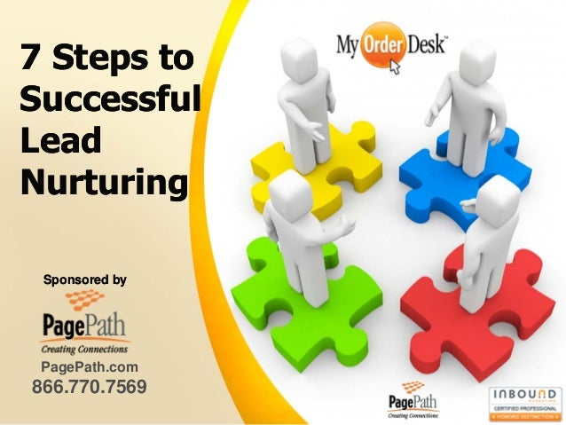 7 Steps toSuccessfulLeadNurturing Sponsored by PagePath.com866.770.7569