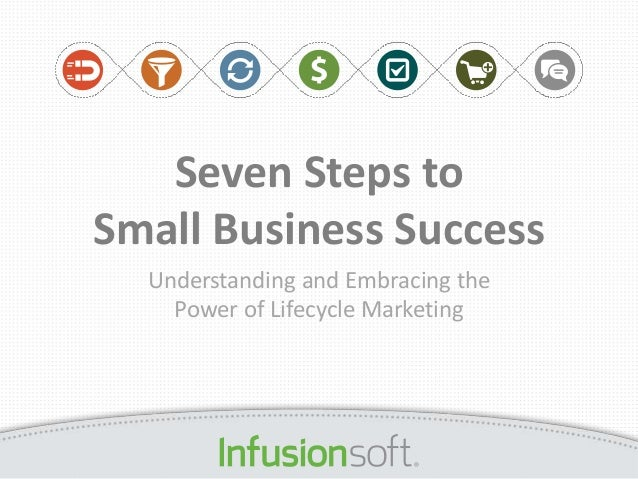 Seven steps to small business success Life Cycle Marketing