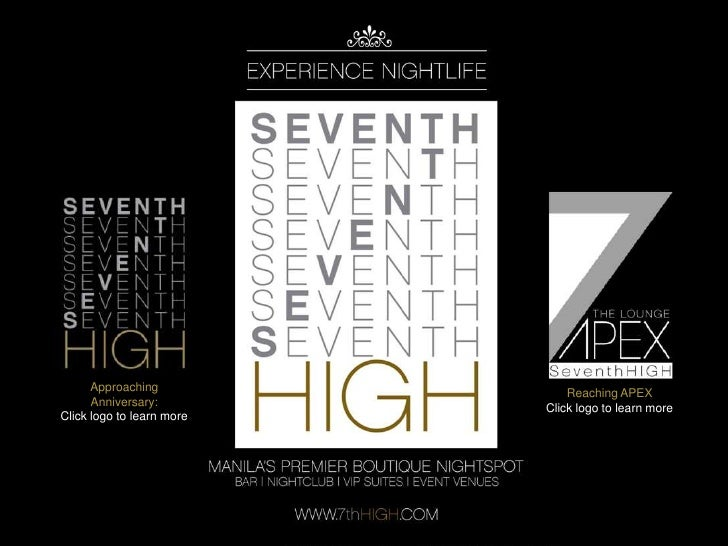 Seventh HIGH presents: APEX and ANNIVERSARY