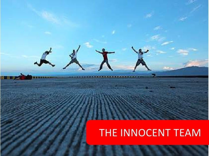 THE INNOCENT TEAM