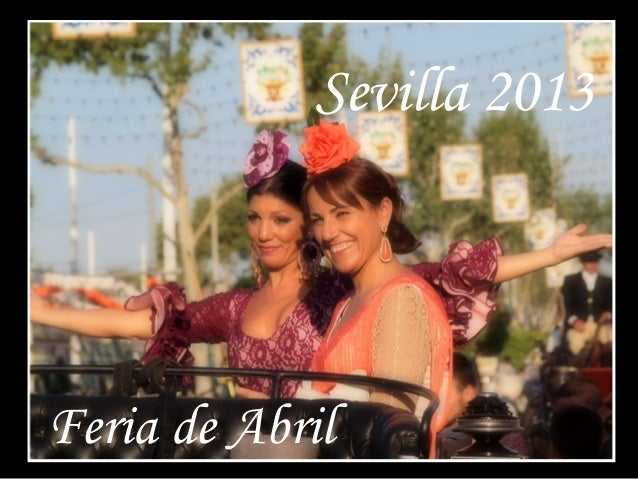 Sevilla. Feria de abril