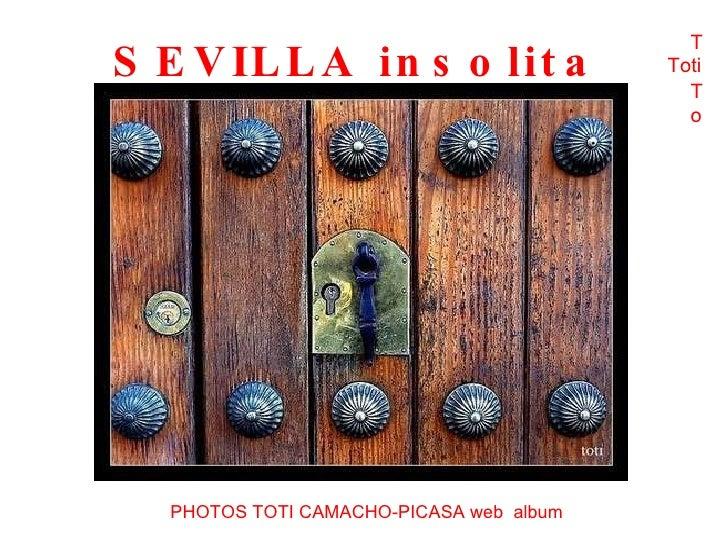 63-Sevilla Insolita Toti Tito