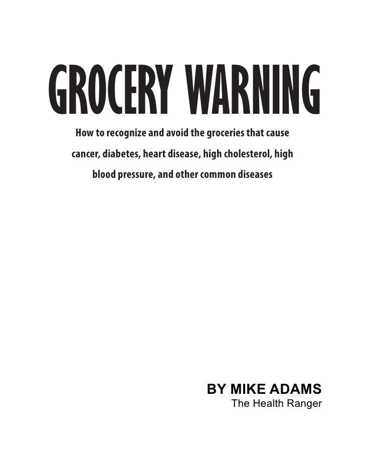 grocery warning