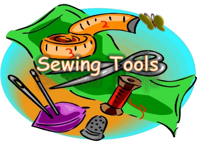 Sewing tools ppt