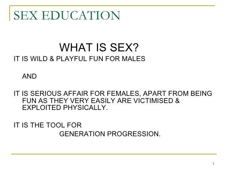 Sex Education 1