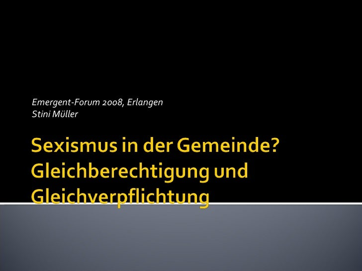 Emergent-Forum 2008, Erlangen Stini Müller