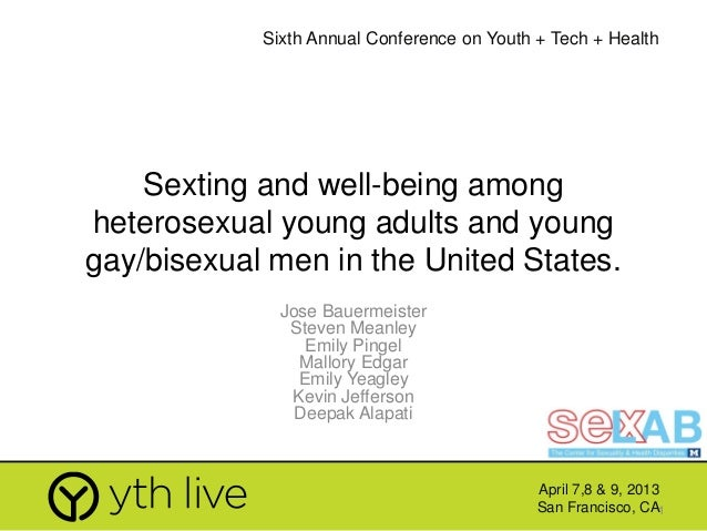 Sexting and well being among Young Gay Men and MSM in the US