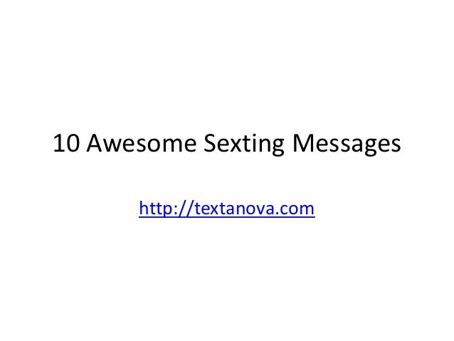 Tips for sexting your girlfriend