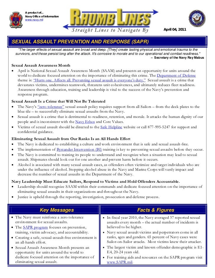 Sexual assault prevention and response galleries 40