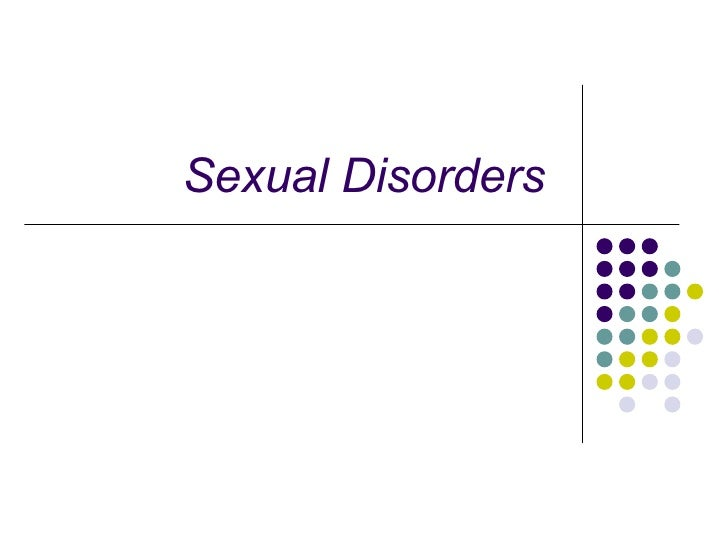 Sexual Disorders