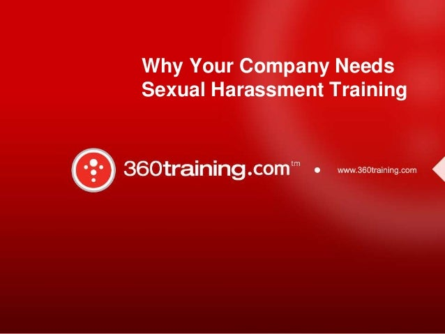 Why Your Company Needs Sexual Harassment Training