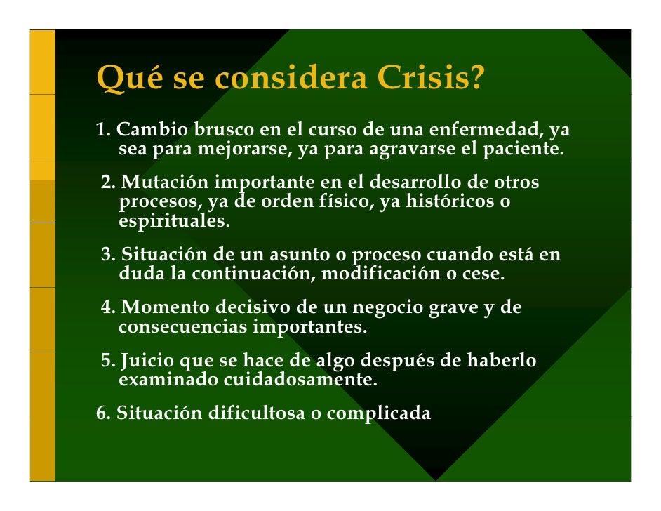 Sexualidad Crisis y Estrés (1)