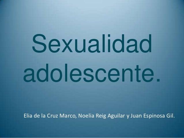 Sexualidad adolescente