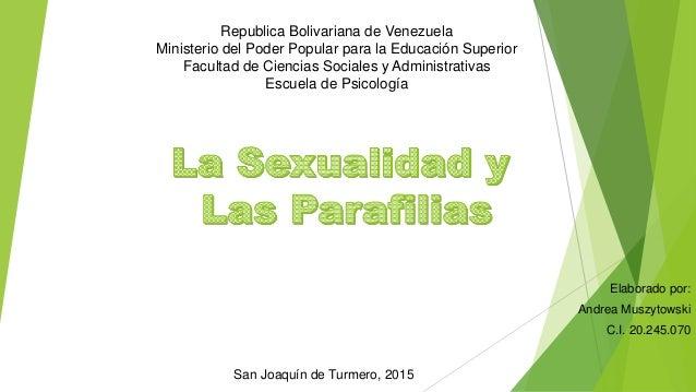 Republica Bolivariana de Venezuela Ministerio del Poder Popular para la Educación Superior Facultad de Ciencias Sociales y...
