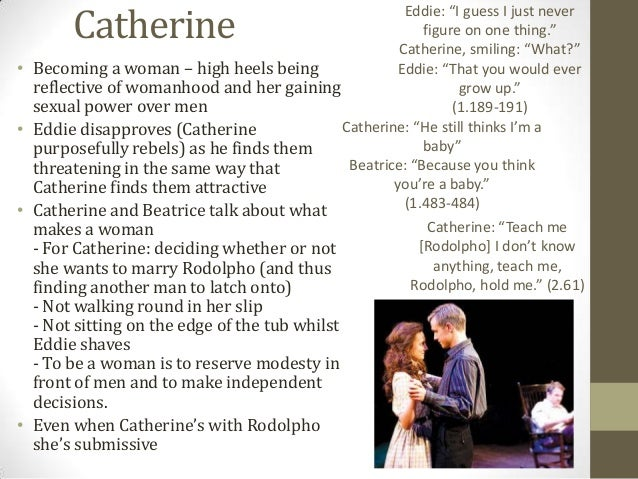 catherine in a view from the bridge essay