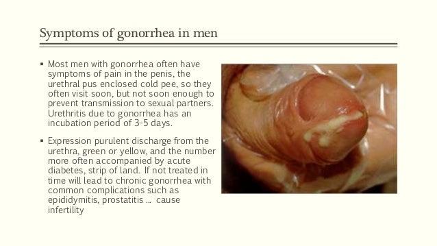 Peeing blood in men std
