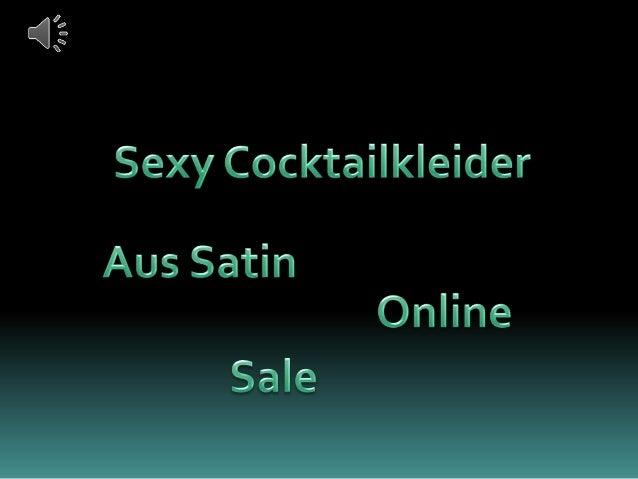 Sexy cocktailkleider aus satin online günstig kaufen