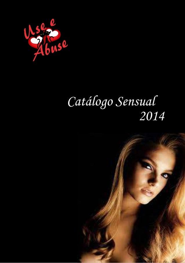 Catálogo Sensual  2014