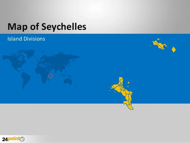 Map of Seychelles Island Divisions