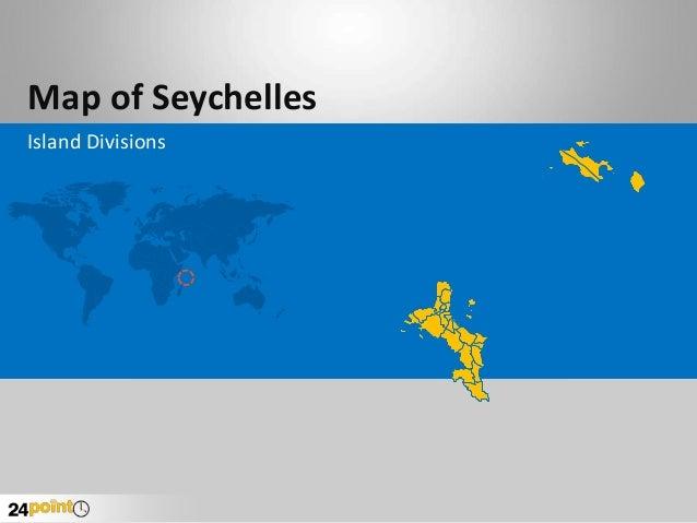 Seychelles Map - Editable PowerPoint Slides