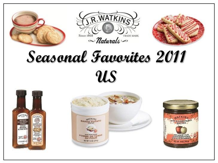 Seasonal Favorites 2011         US