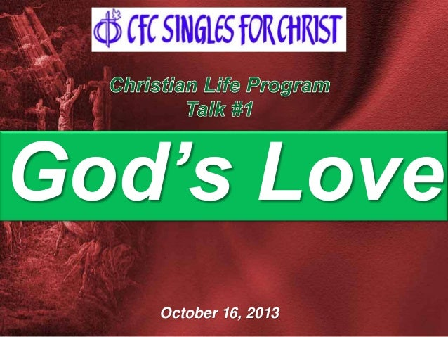 God's Love October 16, 2013